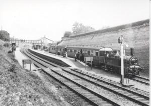 C 15.Newnham Station - branch line train
