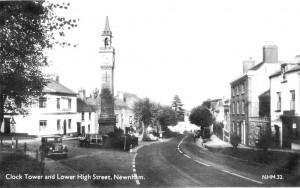 E 11.Clock tower looking North 1960's2